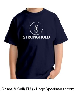 Stronghold (White)/Navy Design Zoom