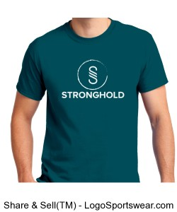 Stronghold (White)/Galapagos Blue Design Zoom