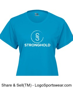 Stronghold (White)/Electric Blue Design Zoom