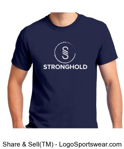 Stronghold (white)/ Metro Blue Design Zoom