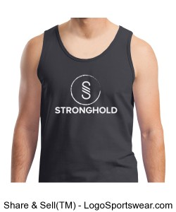 Stronghold (White)/ Charcoal Design Zoom
