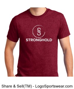 Stronghold (White)/ Antique Cherry Red Design Zoom